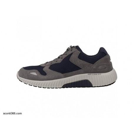 Skechers Scarpe Paxmen, Uomo - Art. 52518/CCNV (Charcoal/Navy)