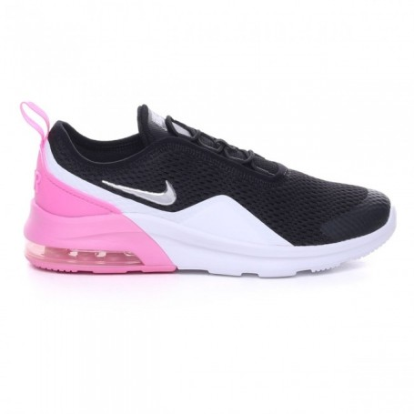 Nike Scarpe Air Max Motion 2 (PSE), Junior Art. AQ2747 001 (BlackMetallic Silver Pink)