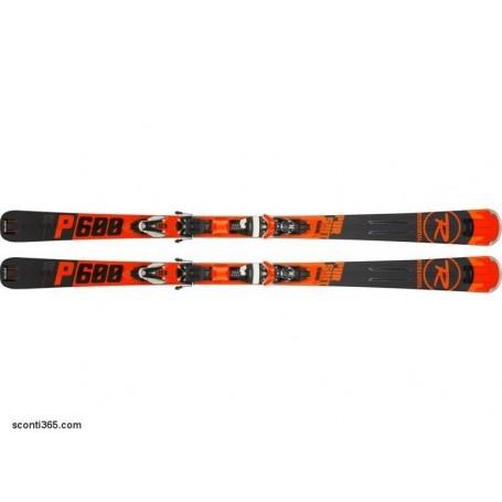 Sci Uomo Rossignol Pursuit 600 CAM/NX12 K DUAL - Cod. Kit RRG02BY (Black/Red)