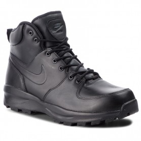 Nike Scarponcino Manoa Leather, Uomo Art. 454350 003 (Black)
