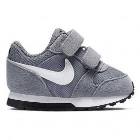 Nike Scarpe MD Runner 2 (TDV), Bambini Art. 806255 002 (Cool GreyWhite Black)