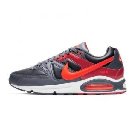 Nike Scarpe Air Max Command, uomo Art. 629993 051 (BlackBright Crimson Dark Grey)