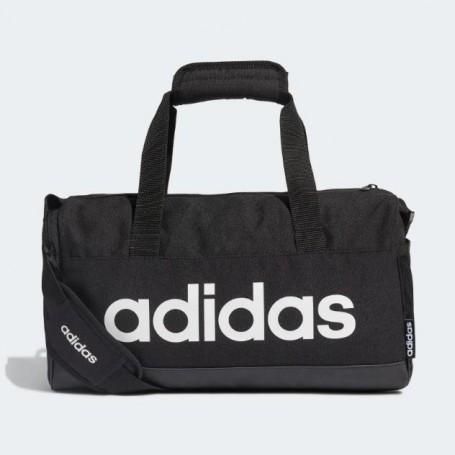 Adidas Borsa Linear Duffle XS, unisex - Art. FL3691 (Nero/Bianco)