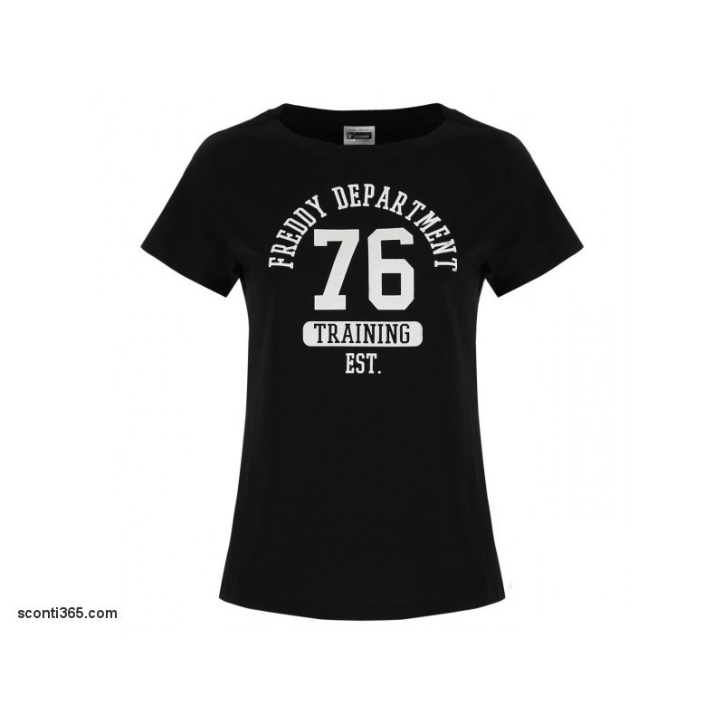 FREDDY T-Shirt M//C Maxi Stampa