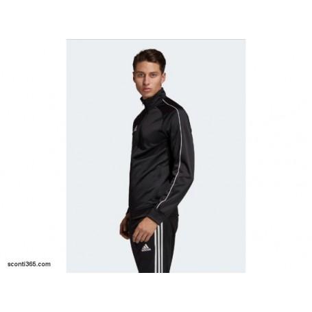 Adidas Giacca Core 18, UomoRagazzo Art. CE9053 (NeroBianco)